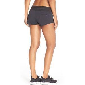Oiselle Roga Black Running Workout Shorts Small